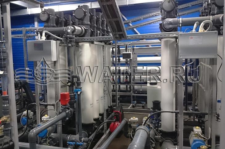 ультрафильтрация воды